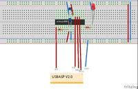 Programowanie Atmega328 za pomocą USBASP V2.0