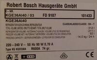 Lodówka Bosch KGE36AI40 - - gdzie kupić sterownik?