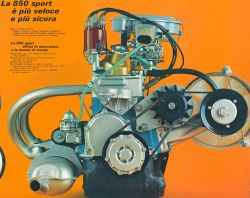 Fiat 900T - OHV 903cc - konwersja zasilana na monowtrysk