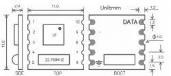 Moduł radia TEA5767 od NXP - V1