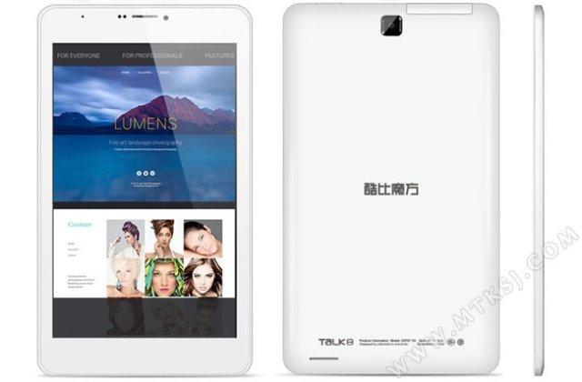 Cube Talk 8 - 8-calowy tablet z funkcjonalno�ci� telefonu za 300 z�