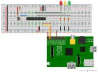 Obsługa ekspandera na I2C przez Raspberry Pi