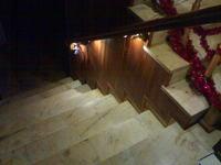 Animowane oświetlenie schodów na fotokomórkę
