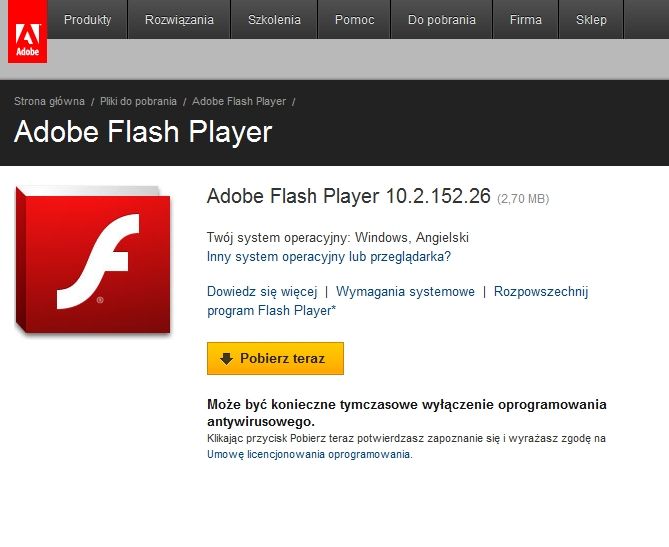 Flash 10.2 z Stage Video API ju� dost�pny!