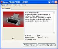 Canon Pixma ip 1500 reset pampersa