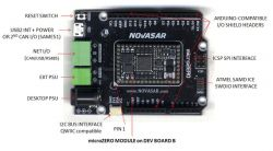 Kompaktowy moduł microZERO z Microchip SAMD21, kompatybilny z Arduino