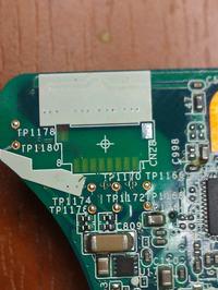 Sony Vaio - Naprawa uszkodzonych ścieżek gniazda na płycie głównej