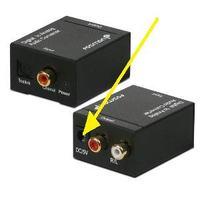 Dekoder Sagemcom CreatDSIW74 - podłączenie do głośników