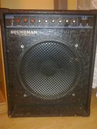 Soundman bass combo 100W - zanika sygnał na wyjściu