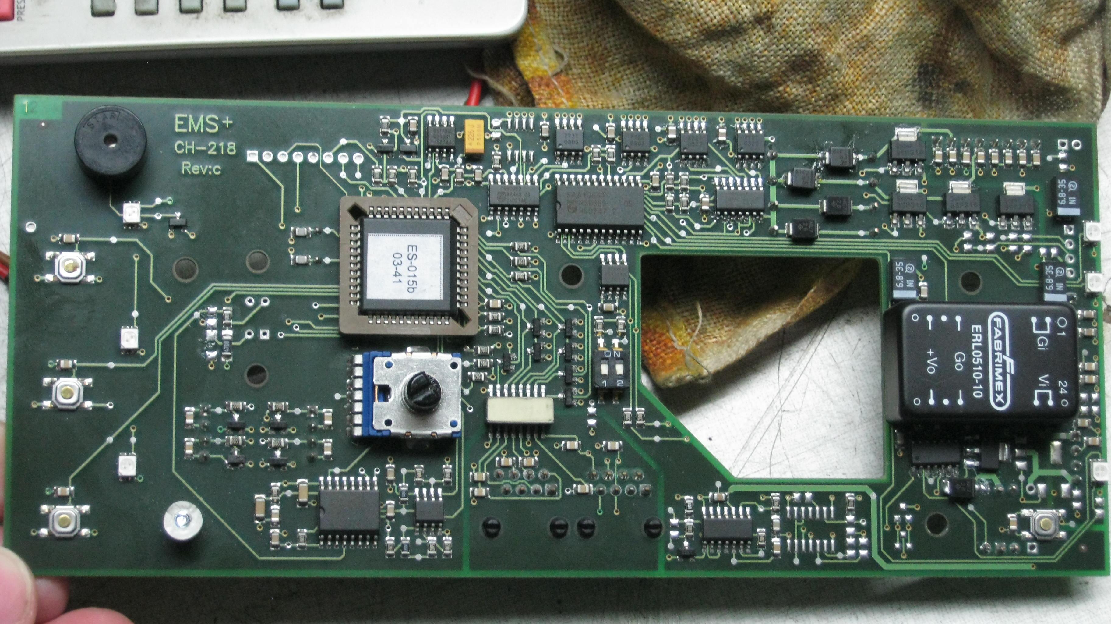 EMS Piezo Master 600 - LD3, Kto zgadnie co to za tranzystor