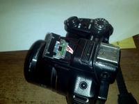sony hx-1 - montaz dodatkowej lampy :)