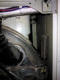 Amica TL 843 - Silne uderzenia podczas wirowania