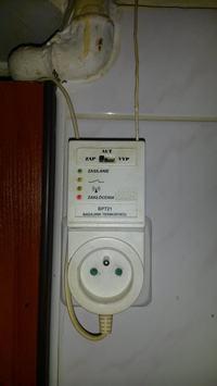 BPT-21 - Brak łączności nadajnik-odbiornik w termostacie