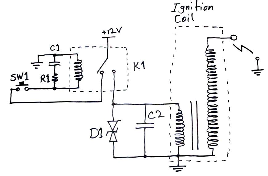 Paralizator Z Cewki Rozruchowej Elektroda Pl