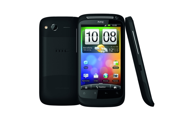 Desire S kolejnym smartphone z Android 2.3 od HTC