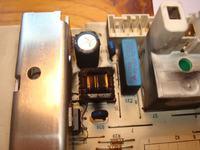 WFC 1600 - Nie pracuje silnik w pralce