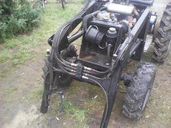 Traktorek sam 4x4 druga konstrukcja