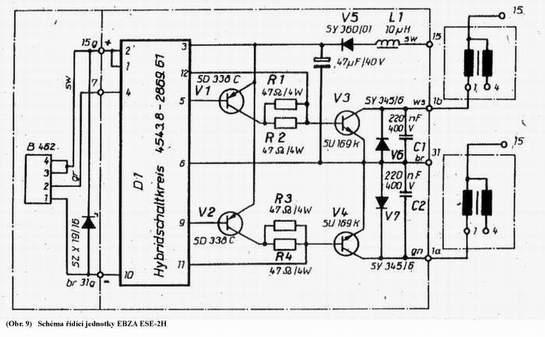 Modu� zap�onowy trabant - grzej�ce si� tranzystory