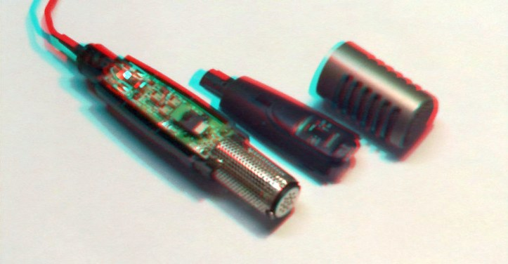 ECM-MS907 - Mikrofon - nie w�acza si�