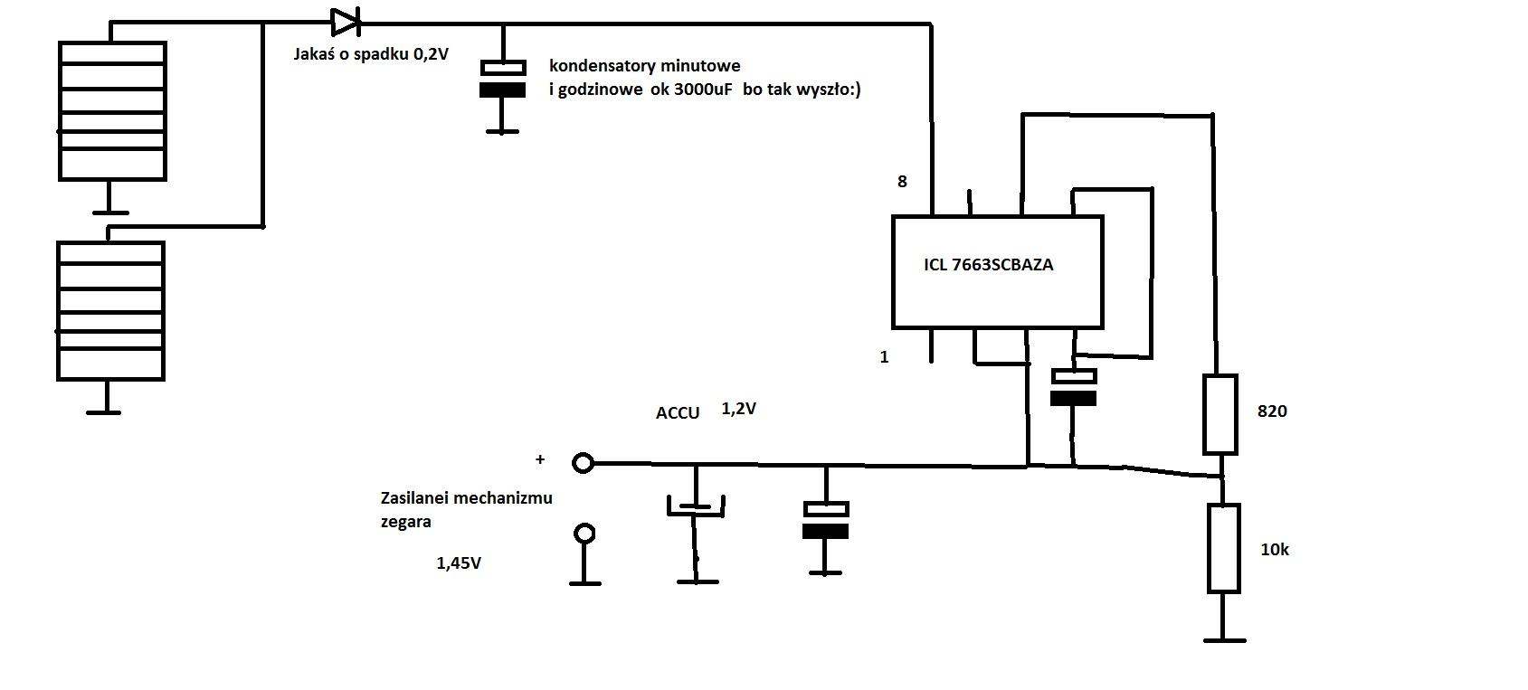 Zegar s�oneczny elektronika
