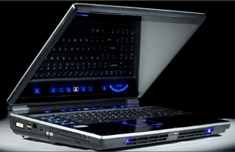 Maingear eX-L - nowy notebook dla graczy z ekranem 3D