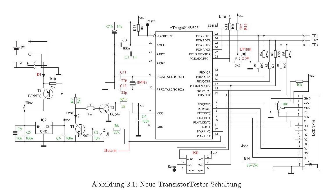 AVR Tester element�w - Nie dzia�a poprawnie