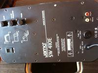 Jamo 410E subwoofer modyfikacja