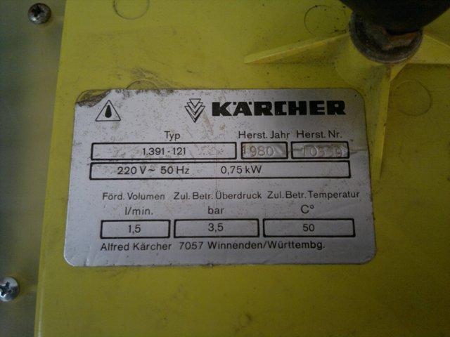 Odkurzacz Karcher Puzzi S spalona(uszkodzona) cz�� zasilaj�ca pomp�