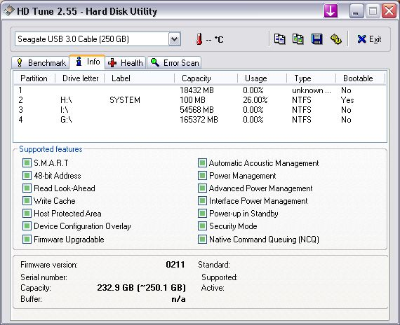 WD2500BEVT - Bardzo wolna praca, 2 z 3 partycji nie do otworzenia.
