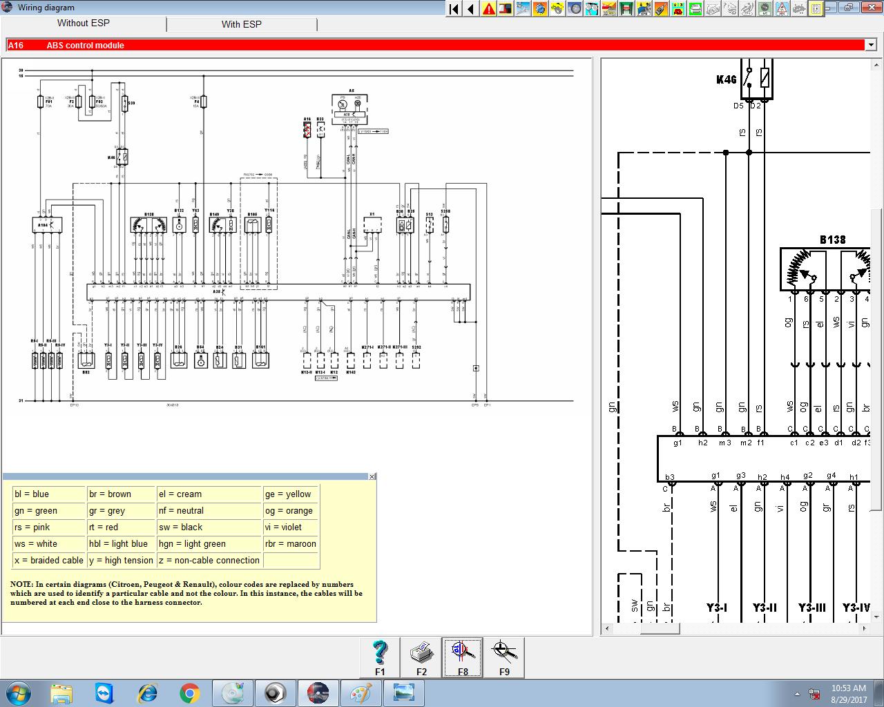 Renault Trafic Abs Wiring Diagram : Renault trafic ecu wiring diagram choice image