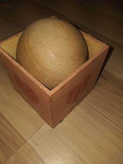 [Sprzedam] Kule drewniane bukowe 90mm z otworem 22mm lub bez