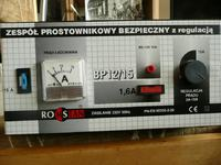 Prostownik Romstan bp12/15 nie ładuje powyżej 2 amperów