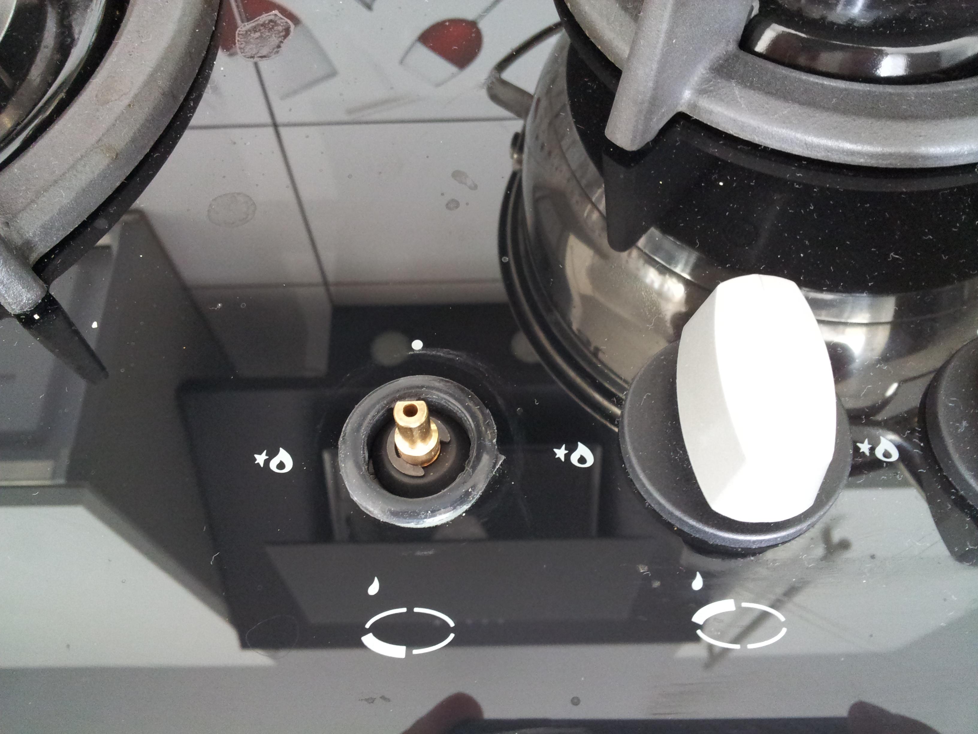 Amica PGCZ6411  Zbyt duzy płomień przy minimalnym ustawieniu pokretła -> Kuchnia Gazowa Amica Regulacja Plomienia