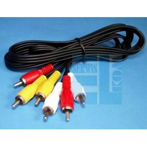 Podłączenie Video DVR Grabber USB + magnetowid