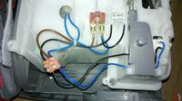 Electrolux Z1027 - Podłączenie zasilania silnika