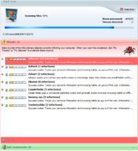 Wielokrotna infekcja programami adware i spyware