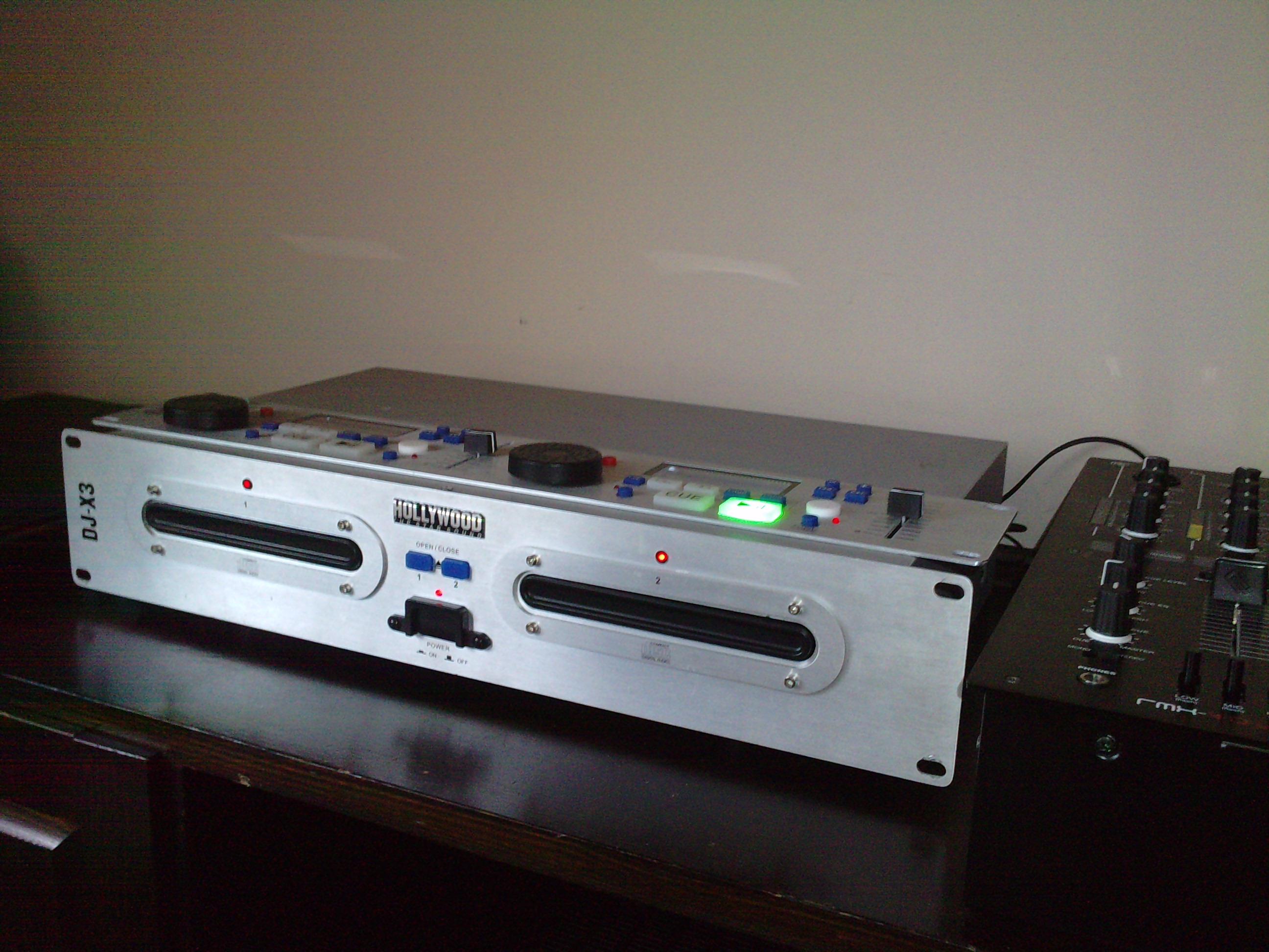 Jak mo�na przerobi� odtwarzacz CD hollywood dj-x3 ?