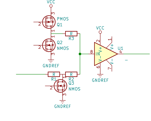 Przełącznik (override) trójstanowy wysokiej częstotliwości