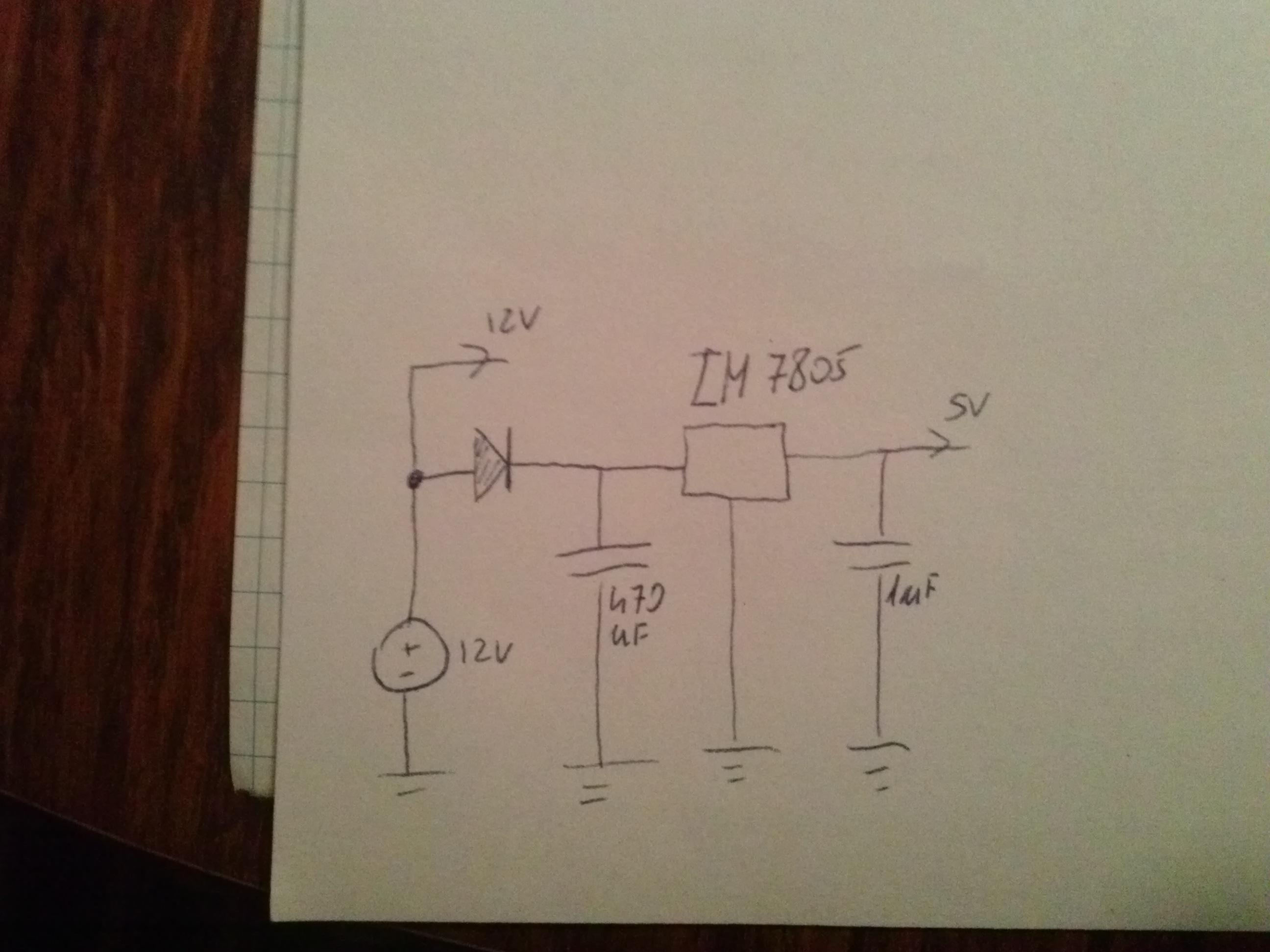 ATMEGA16 - Schemat ideowy-Uniwersalny programator czasowy.