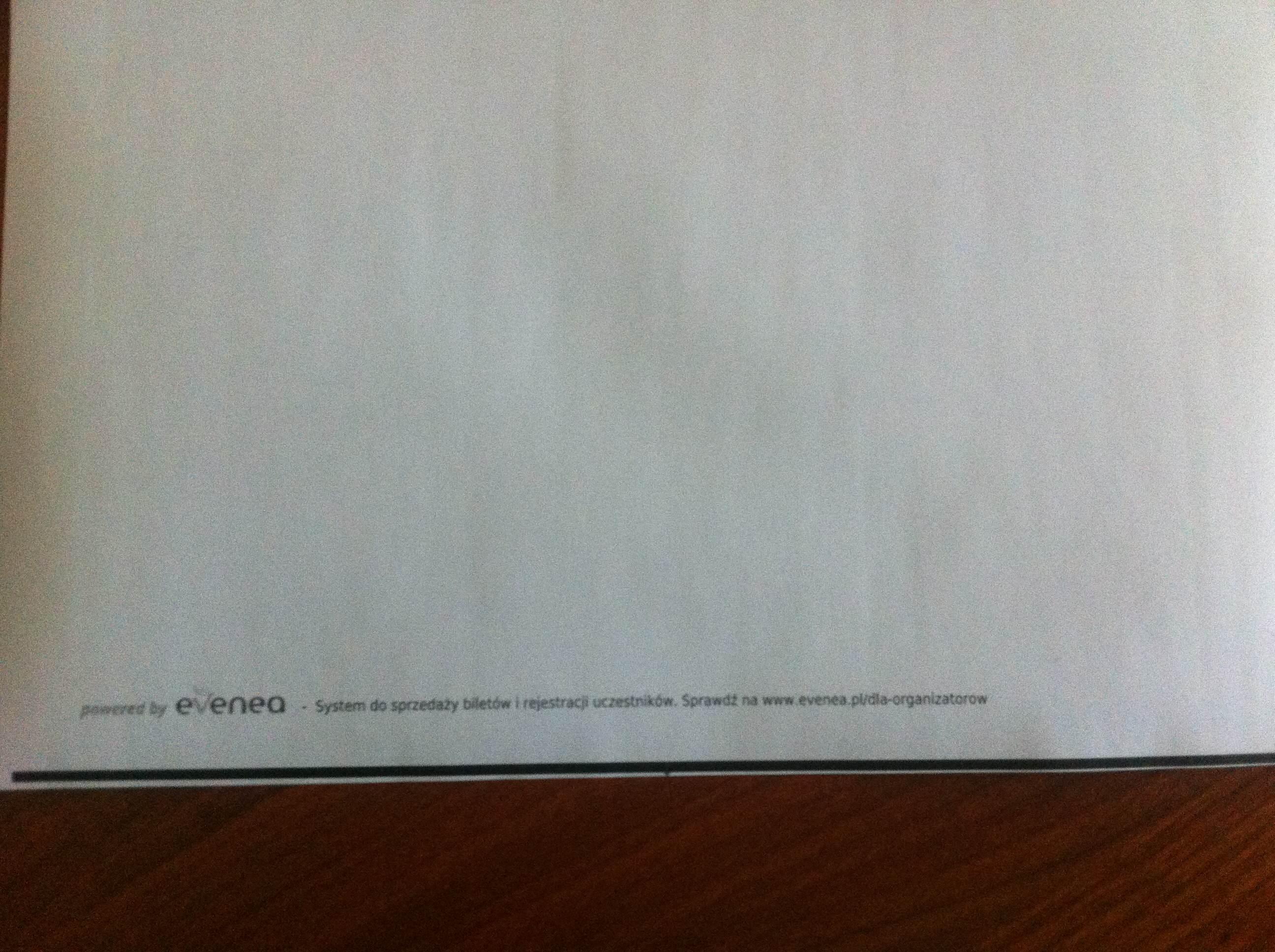 Samsung SCX-3405W - Czarny pasek przy drukowaniu