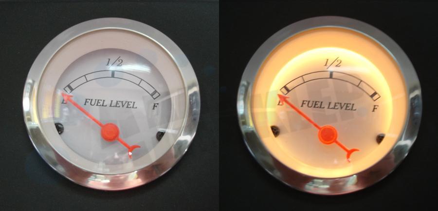 zmiana skali dzia�ania p�ywaka (czujnik poziomu paliwa)