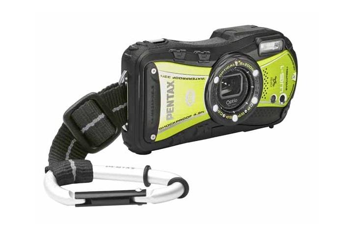 Pentax Optio WG-3 GPS - wodoodporny aparat kompaktowy z GPS