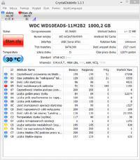 Dysk WD10EADS 1TB - System go nie widzi
