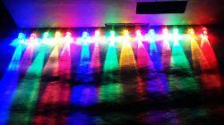 Lampki choinkowe na migających LEDach candle flicker
