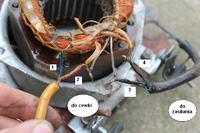 Zmiana kierunku obrotu silnika bezszczotkowego (zdjęcia)