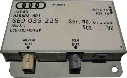 Audi A4 B6 - Wzmacniacz antenowy, FZV OUT gdzie szuka� przewodu?