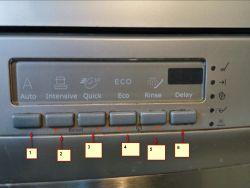 Electrolux ESF66070 - cały czas pracuje pompka wypompowania wody