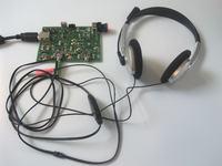 Karta muzyczna z USB, współpracująca ze światłowodami POF