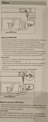 Philips 50PUS6262/12+ Soundbar - Chwilowe działanie dźwięku na YT