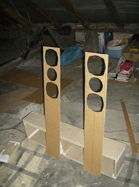 Kolumny ClonMite - moja konstrukcja